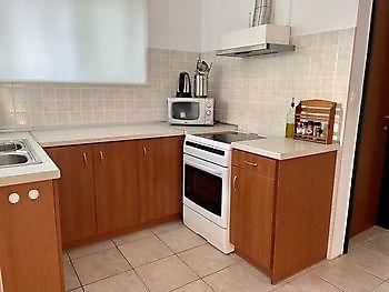 De keuken van het vakantieverblijf Crete Joy Georgioupolis