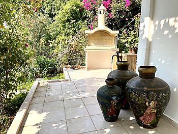 Een van de terrassen Crete Joy Georgioupolis